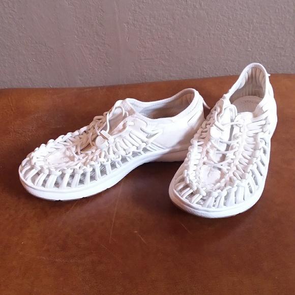 Keen Shoes   Keen White Uneek Sandal